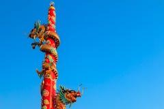 buri chon龙西安雕象寺庙泰国 免版税库存图片