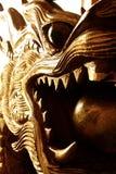 buri chon smoka Sian statuy świątynia Thailand Zdjęcie Royalty Free