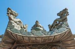 buri chon smoka Sian statuy świątynia Thailand Zdjęcia Stock