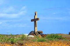 Burial on Big Island Stock Photography