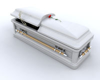 Burial Casket Royalty Free Stock Images