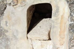 Burial caves Stock Photo