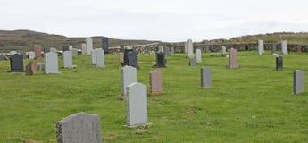Burial Cemetery. Stock Photos