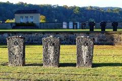 Burial ground Holocaust Stock Image