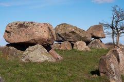 Burial mound Royalty Free Stock Photos