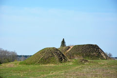 Burial mound Stock Photography