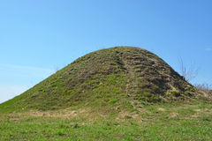 Burial mound Royalty Free Stock Images