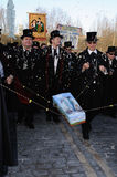BURIAL OF THE SARDINE Carnival. Madrid .SPAIN Stock Photos