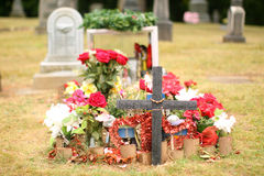 Burial site Stock Photography