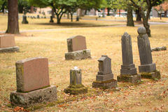 Burial site Stock Images