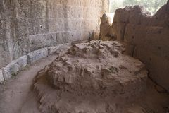 Burial spot of Julius Caesar, Forum, Rome, Italy, Europe Stock Photo