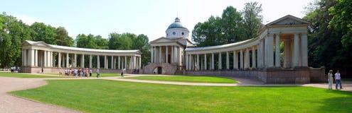Burial vault of prince Yussupov in Arkhangelskoye Stock Images