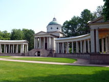 Burial vault of prince Yussupov in Arkhangelskoye Royalty Free Stock Images