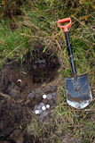 Buried treasure Stock Photography