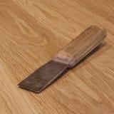 Burin avec la poignée en bois Photos stock