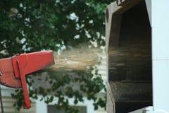 Burineur en bois Photos stock