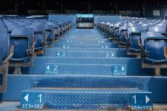 Buriram förenade platsstadion Arkivbilder