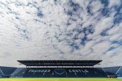 BURIRAM, TAILÂNDIA - 6 DE JANEIRO DE 2017: Buriram uniu o estádio fotografia de stock