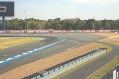 Buriram, Tailandia - 30 dicembre 2016: La corsa di macchina da corsa di Chang International Circuit Buriram Thailand su una pista Immagine Stock