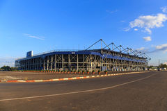 BURIRAM,THAILAND-NOV 12:View of I-mobile Stadium on Nov 12,2014 Royalty Free Stock Images