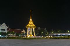 Buriram, Thailand: 24,2017 oktober Model van Bouw van Rep Royalty-vrije Stock Afbeeldingen