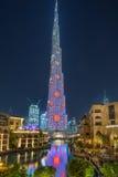 Burj哈利法在迪拜 免版税库存照片