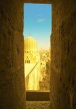从Burj哈利法的看法 库存照片