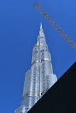 Burj哈利法迪拜购物中心,迪拜 库存照片