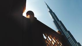 Burj哈利法高楼在世界上 免版税库存图片