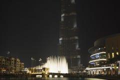 Burj哈利法,街市迪拜,阿拉伯联合酋长国 免版税库存照片