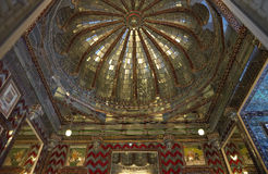 burj城市印度kanch宫殿udaipur 库存图片