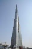 burj迪拜摩天大楼最高的世界 免版税库存照片