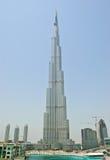 burj迪拜阿拉伯联合酋长国视图 免版税库存照片