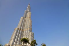 burj迪拜阿拉伯联合酋长国 免版税库存图片