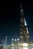 burj迪拜khalifa塔阿拉伯联合酋长国 免版税库存图片