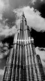 burj迪拜khalifa最高的塔阿拉伯联合酋长国世界 免版税库存图片
