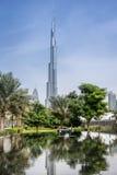 burj迪拜khalifa最高的塔阿拉伯联合酋长国世界 库存图片