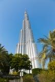 burj迪拜khalifa最高的塔阿拉伯联合酋长国世界 免版税图库摄影