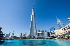 burj迪拜khalifa 图库摄影
