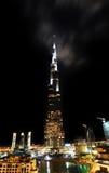 Burj Ντουμπάι. Πιό ψηλός πύργος που γίνεται πάντα Στοκ εικόνα με δικαίωμα ελεύθερης χρήσης