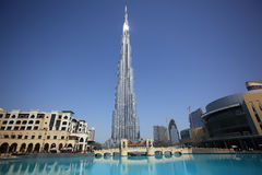 burj Ντουμπάι Στοκ εικόνες με δικαίωμα ελεύθερης χρήσης