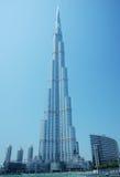 burj Ντουμπάι Στοκ φωτογραφία με δικαίωμα ελεύθερης χρήσης