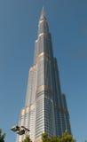 burj πιό ψηλός κόσμος πύργων khalifa s του Ντουμπάι Στοκ εικόνα με δικαίωμα ελεύθερης χρήσης