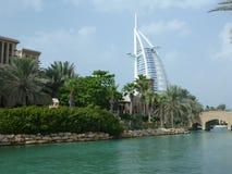 burj Дубай al арабское Стоковые Фотографии RF