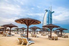 burj Дубай UAE al арабское Стоковая Фотография