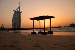 burj Дубай UAE al арабское Стоковые Фотографии RF