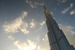 Burj哈利法。迪拜,阿拉伯联合酋长国 免版税库存照片