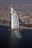 Burj Al阿拉伯人反射 免版税库存照片