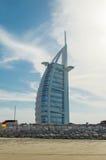 Burj Al阿拉伯人在迪拜 免版税图库摄影
