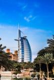 Burj Al阿拉伯人是豪华5星旅馆 库存图片